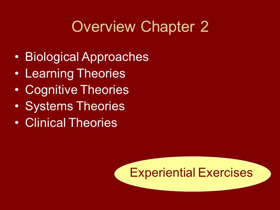 Experiential Exercises