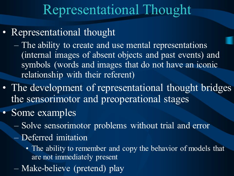 Representational Thought