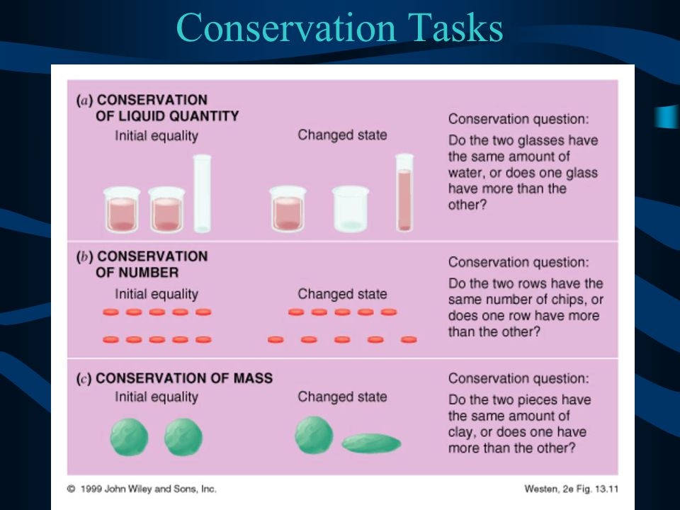 Conservation Tasks Figure 10.15a from: