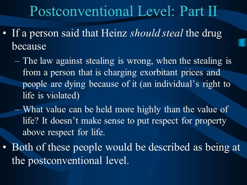 Postconventional Level: Part II