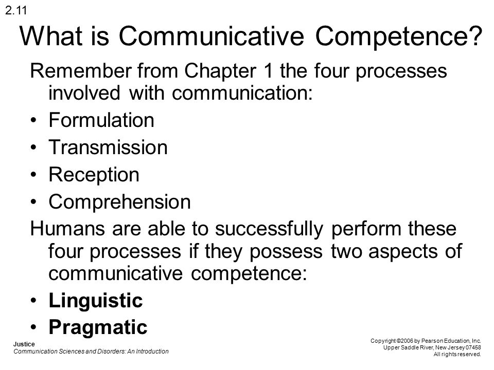 What is Communicative Competence