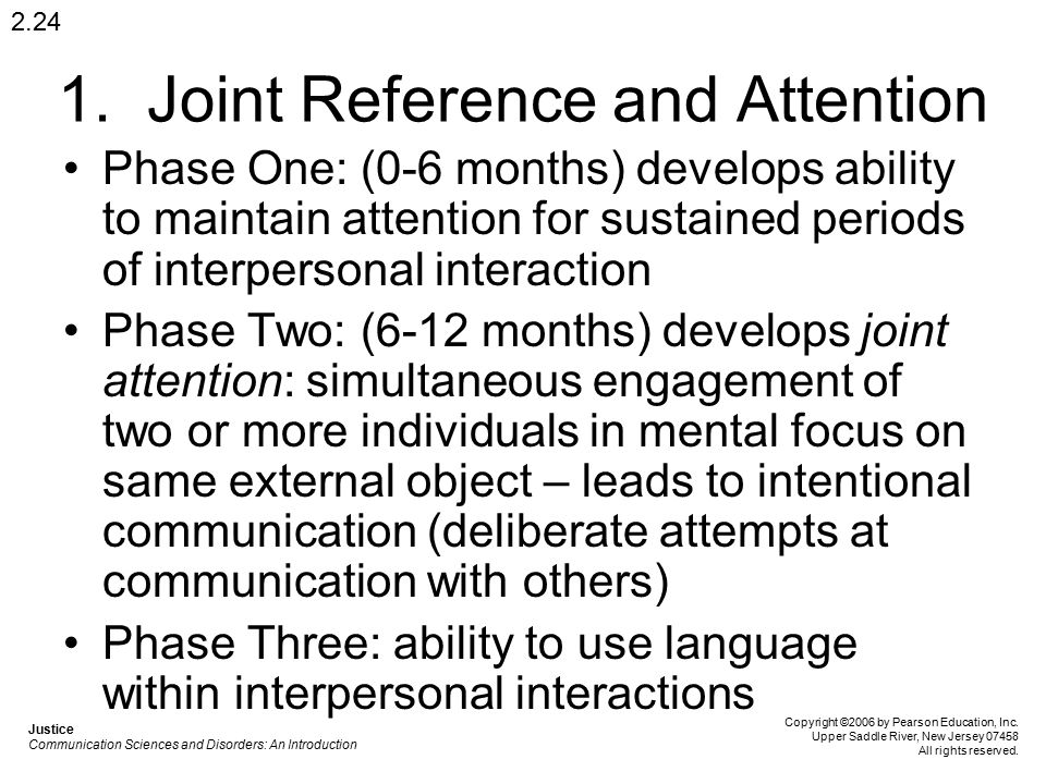 1. Joint Reference and Attention