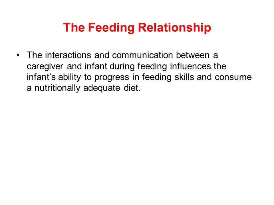 The Feeding Relationship