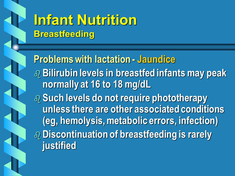Infant Nutrition Breastfeeding
