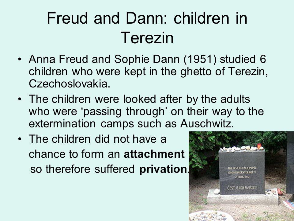 Freud and Dann: children in Terezin