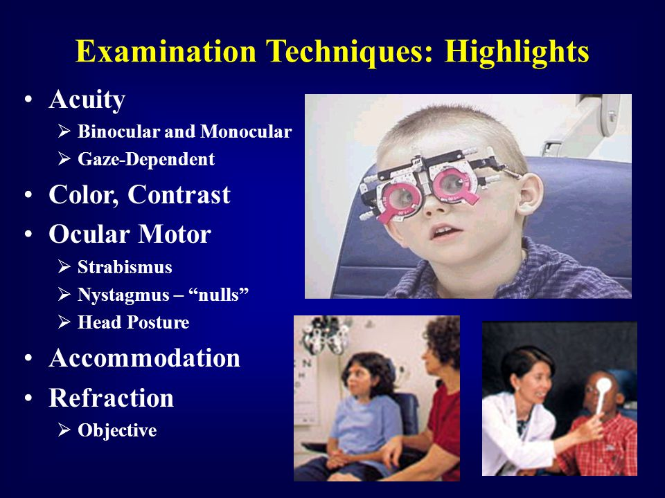 Examination Techniques: Highlights