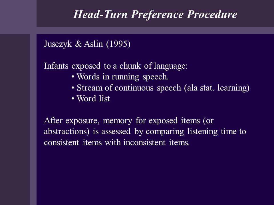 Head-Turn Preference Procedure