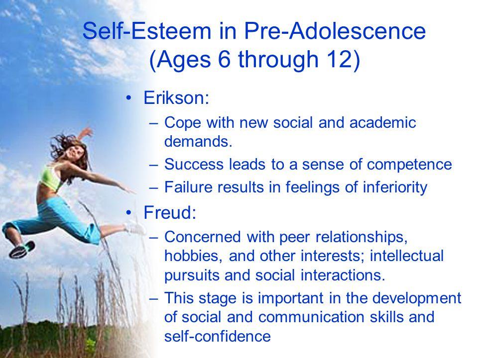 Self-Esteem in Pre-Adolescence (Ages 6 through 12)