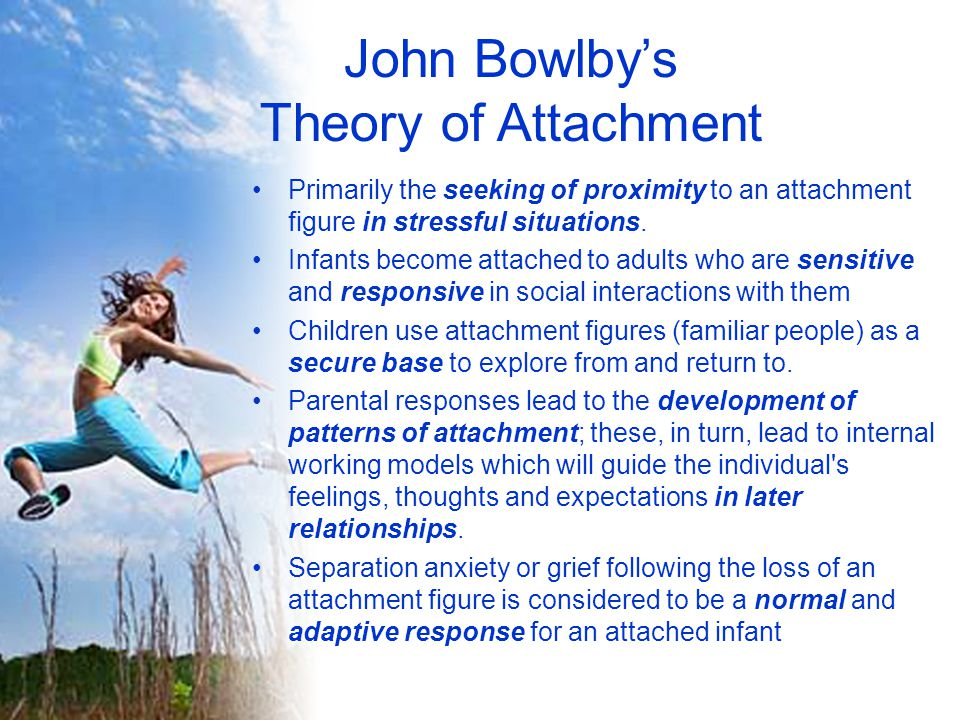 John Bowlby's Theory of Attachment