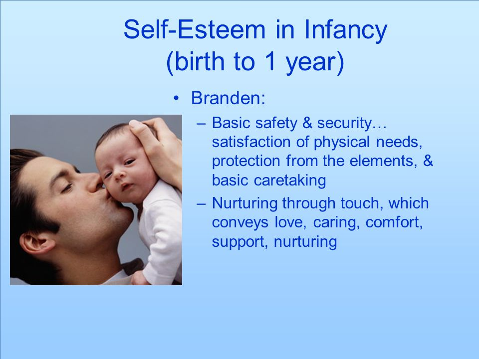 Self-Esteem in Infancy (birth to 1 year)