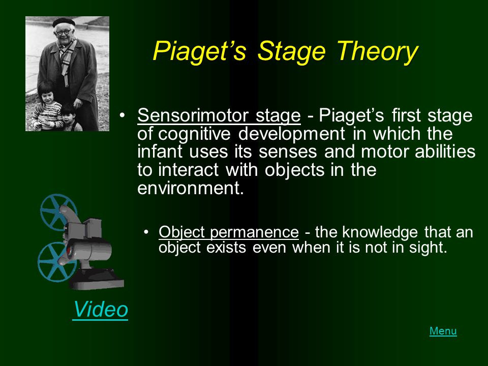 Piaget's Stage Theory Video