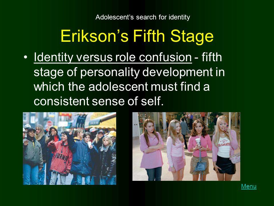 Adolescent's search for identity