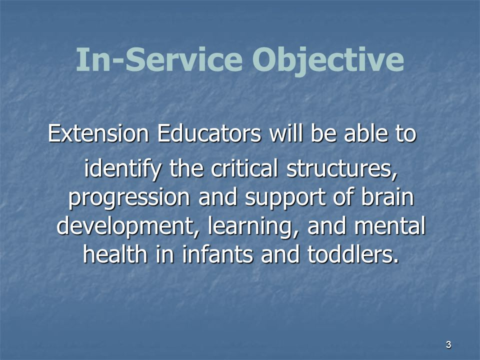 Extension Educators will be able to