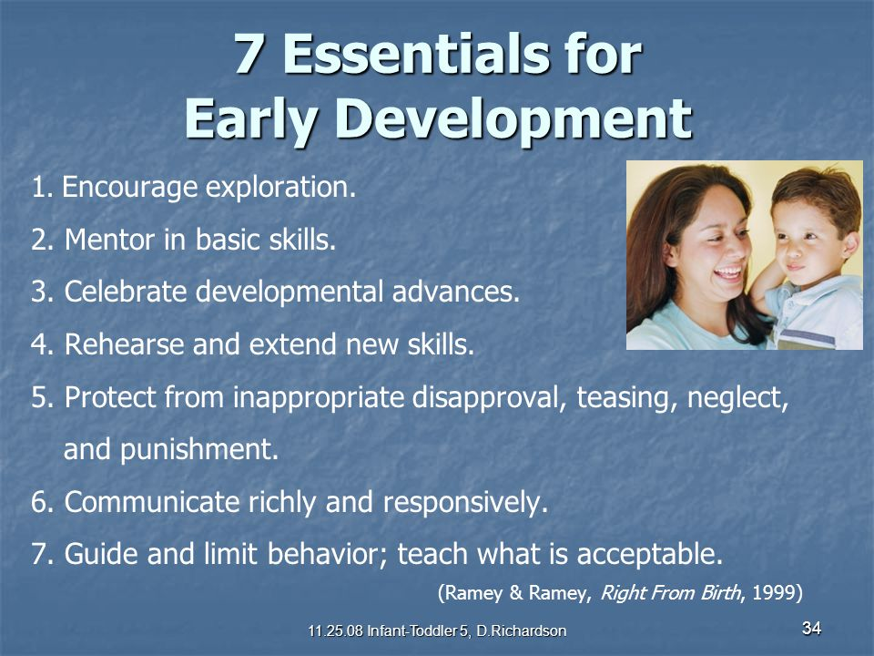 7 Essentials for Early Development