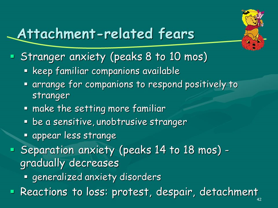 Attachment-related fears