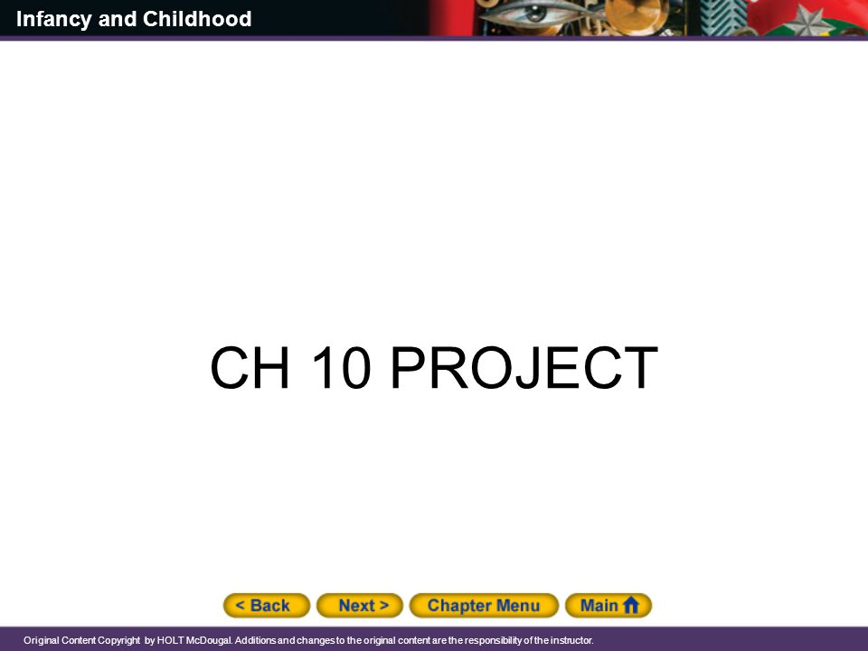 CH 10 PROJECT