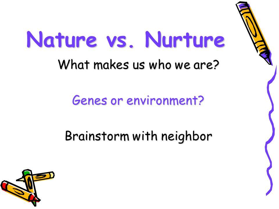 Brainstorm with neighbor