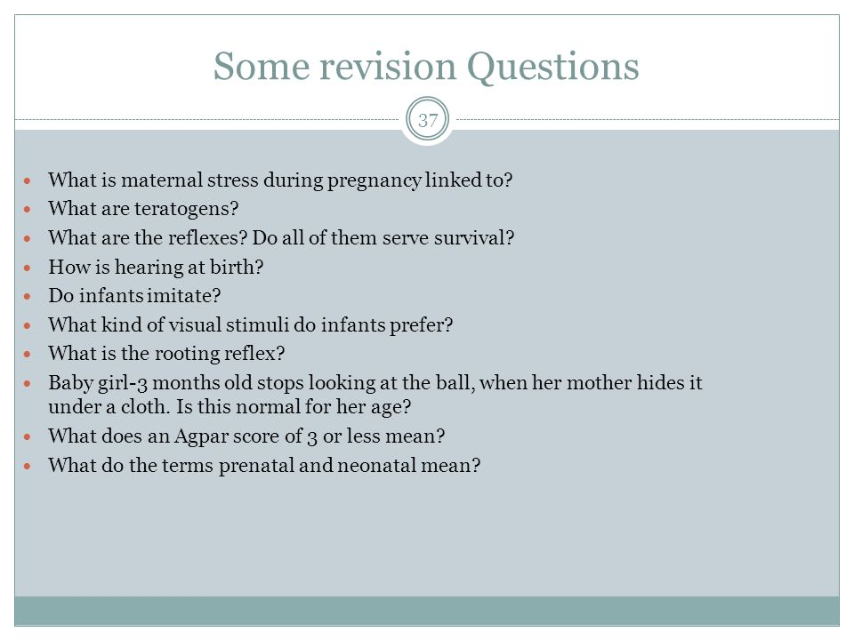 Some revision Questions