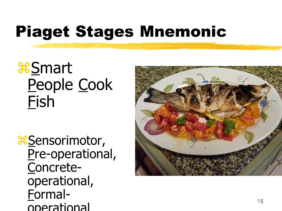 Piaget Stages Mnemonic