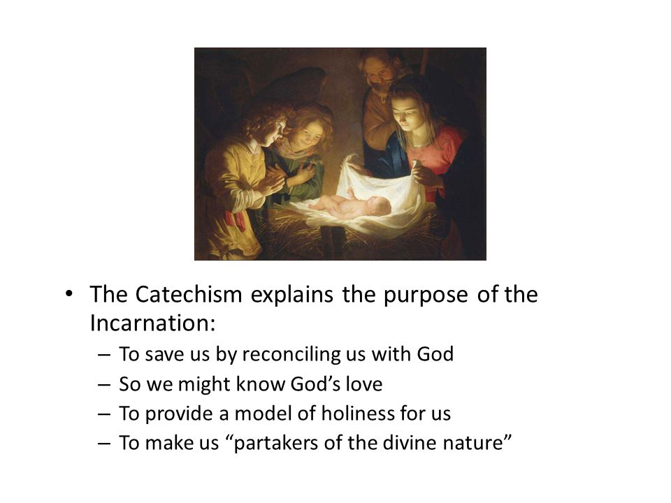 The Purpose of the Incarnation