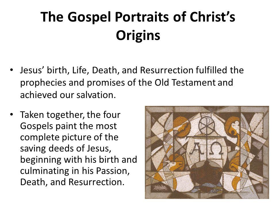 The Gospel Portraits of Christ's Origins
