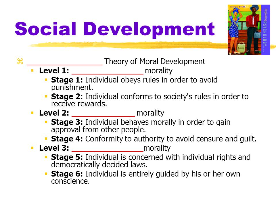 Social Development __________________ Theory of Moral Development