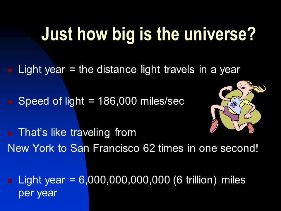 Just how big is the universe