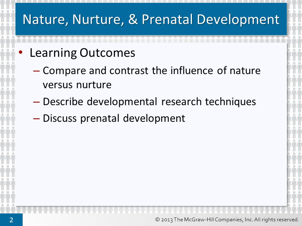 Nature Vs Nurture: An Impact on Human Development