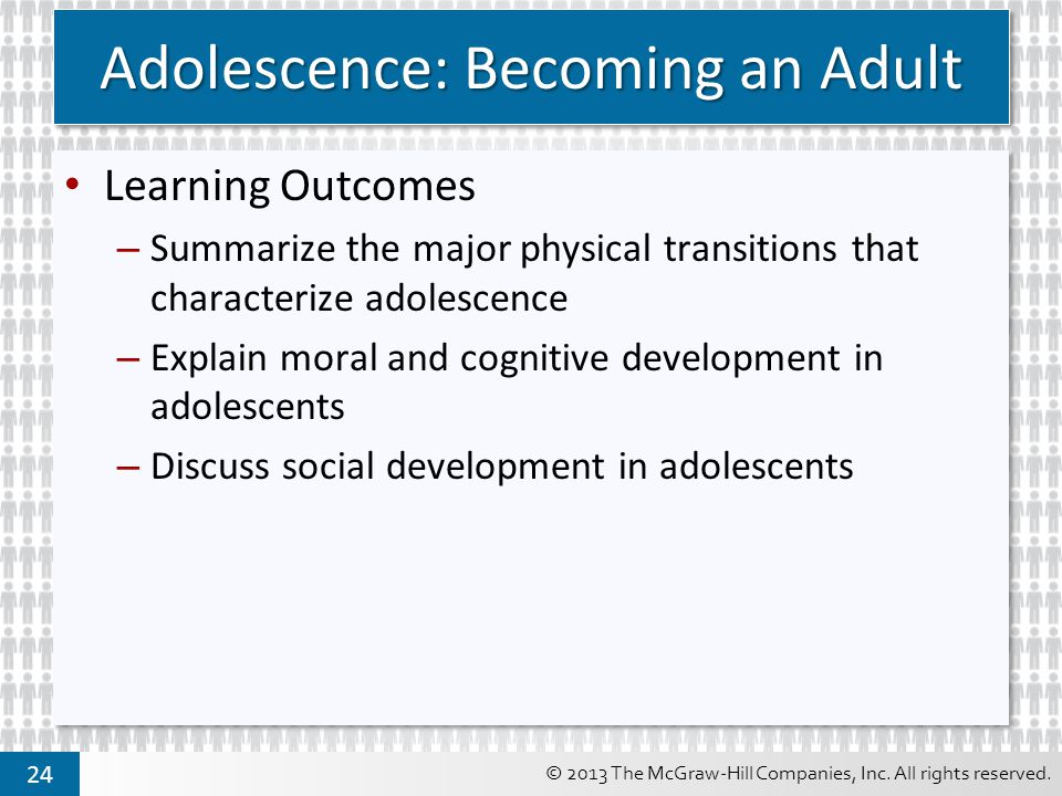 Adolescence: Becoming an Adult