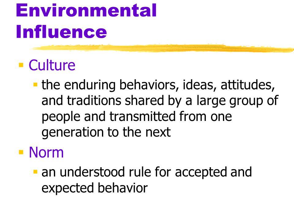 Environmental Influence