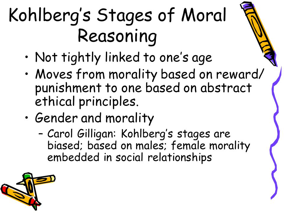 Kohlberg's Stages of Moral Reasoning