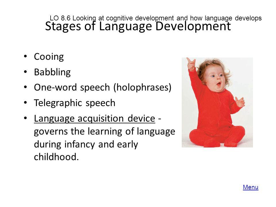 Stages of Language Development