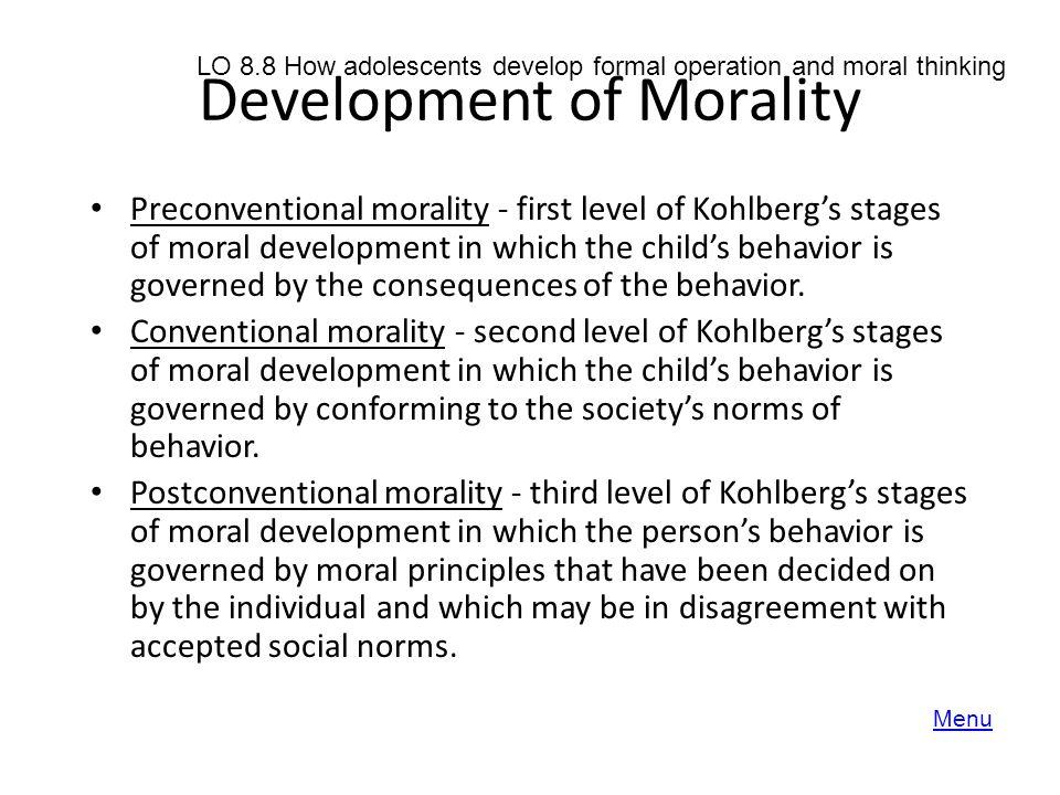 Development of Morality