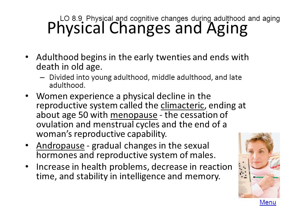 Physical Changes and Aging