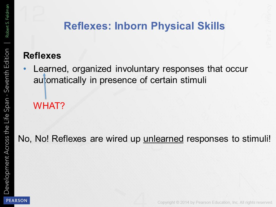 Reflexes: Inborn Physical Skills