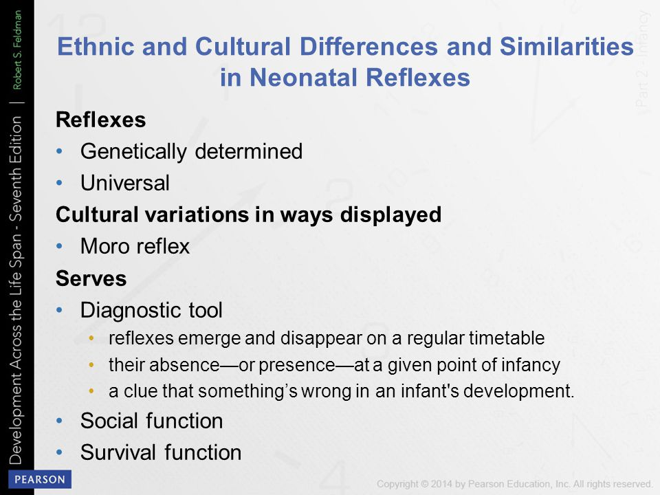 Ethnic and Cultural Differences and Similarities in Neonatal Reflexes