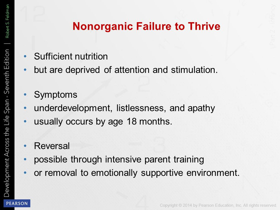 Nonorganic Failure to Thrive