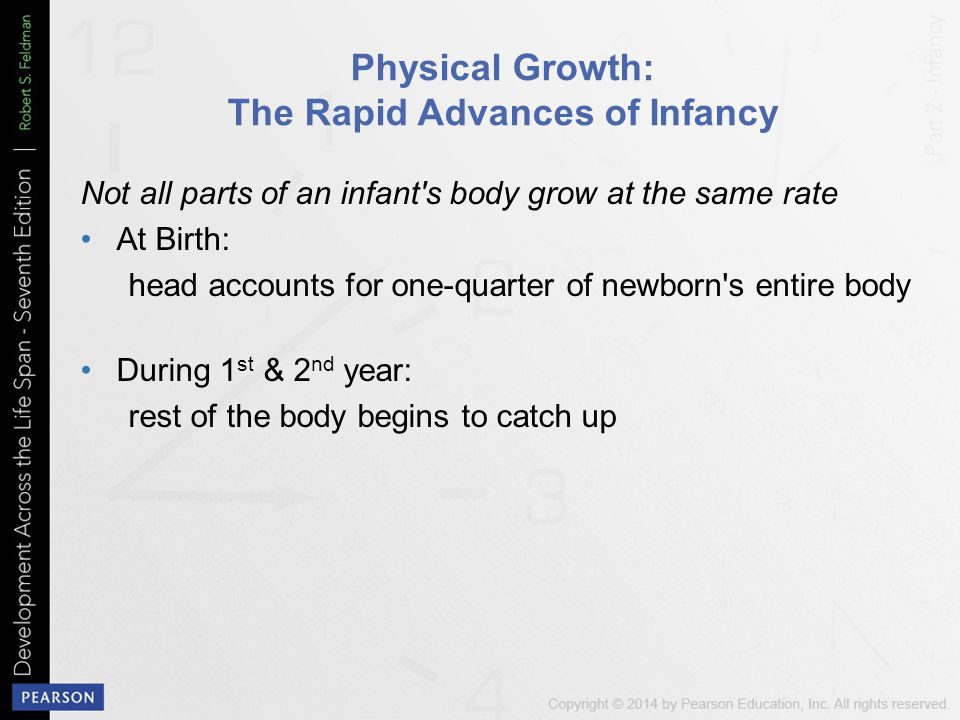 Physical Growth: The Rapid Advances of Infancy
