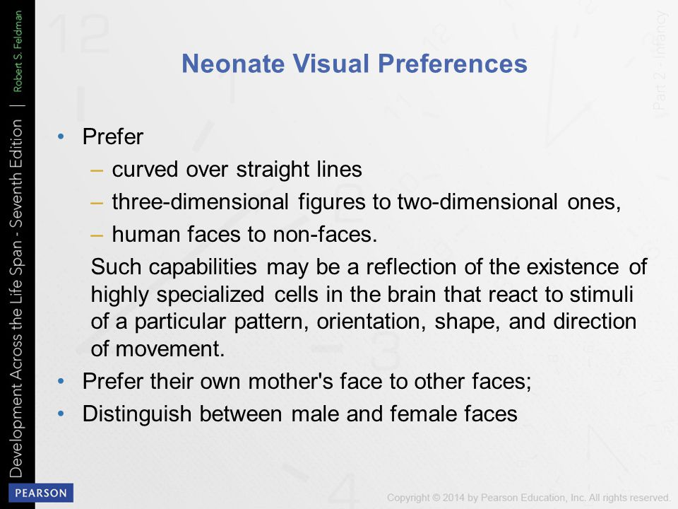 Neonate Visual Preferences