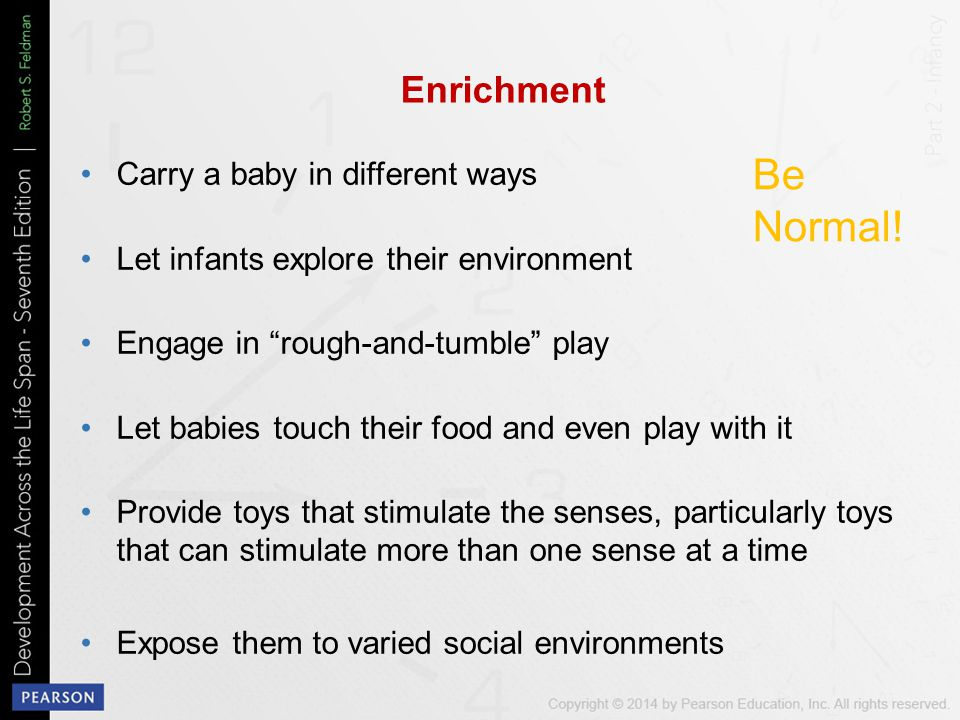 Be Normal! Enrichment Carry a baby in different ways