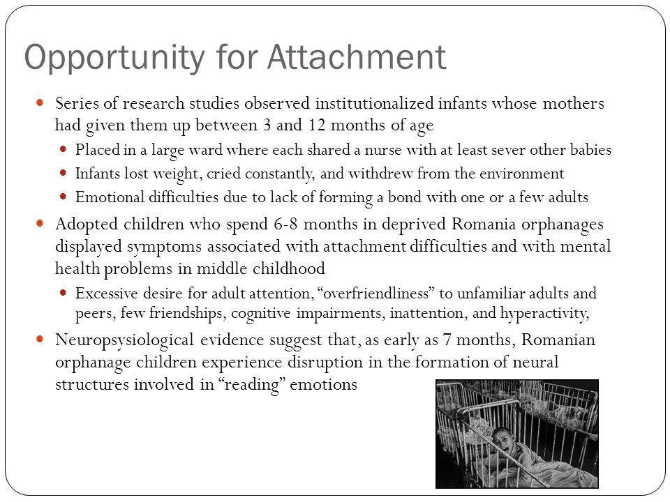 Opportunity for Attachment