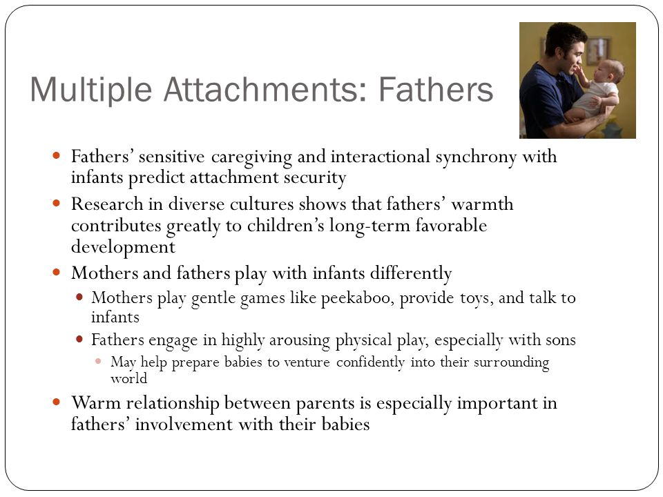Multiple Attachments: Fathers