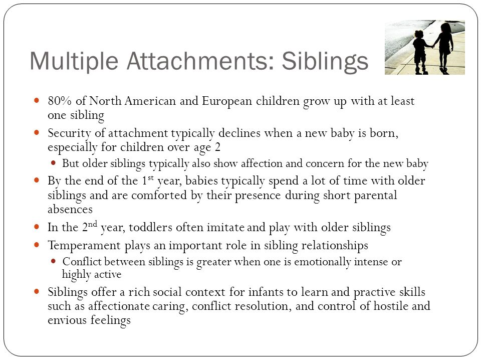 Multiple Attachments: Siblings