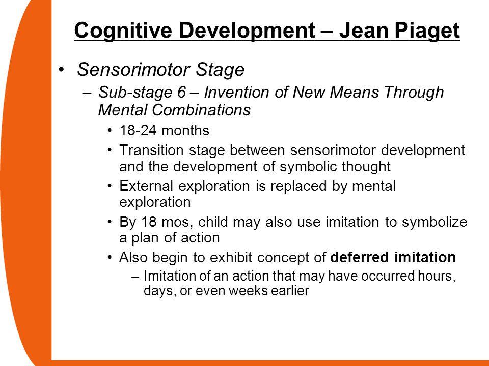 Cognitive Development – Jean Piaget