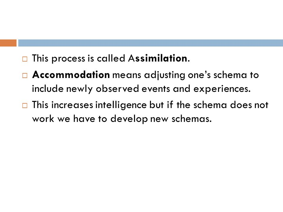 This process is called Assimilation.