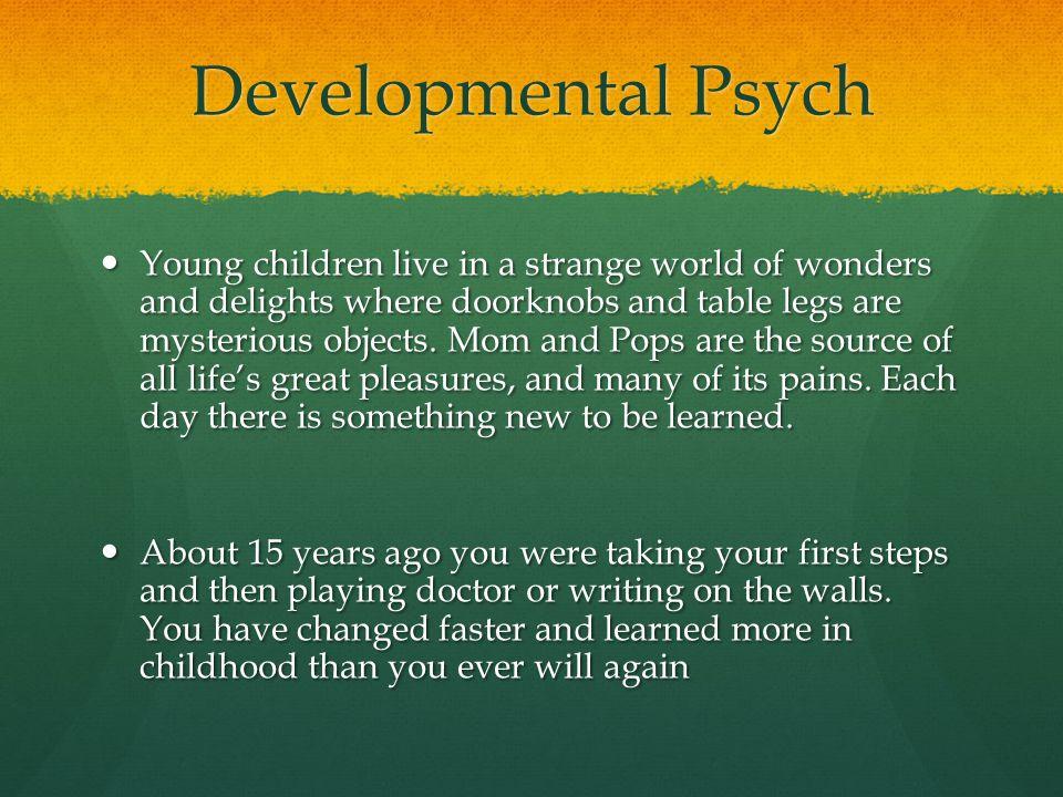 developmental psych