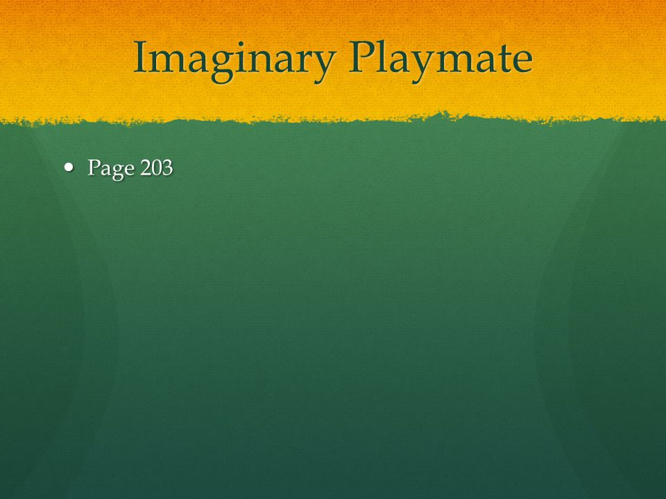 Imaginary Playmate Page 203