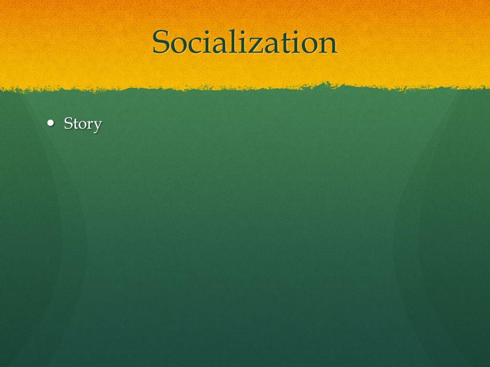 Socialization Story