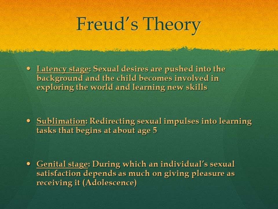 Freud's Theory