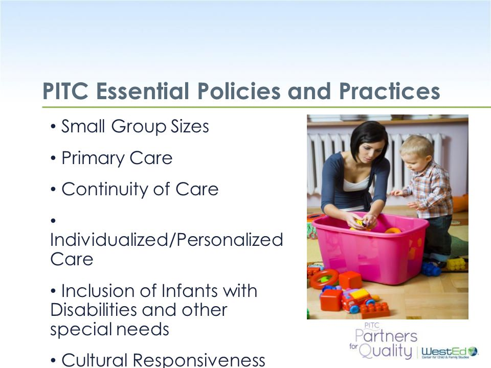 PITC Essential Policies and Practices